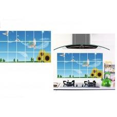 Kitchen Anti Oil Wall Sticker (2 sets)