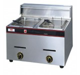 Gas Deep Fryer (2 Tanks)