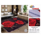 Floor Rug / Ground Mat / Carpet 210cm X 230cm